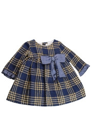 Fina Ejerique Mustard Baby Dress. - Front cropped