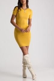 House of Atelier Mustard Bodycon Dress - Product Mini Image