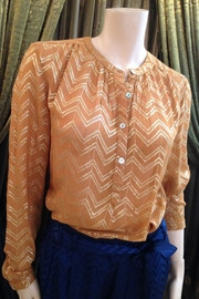 LOLLYS LAUNDRY Mustard/gold Blouse - Product Mini Image