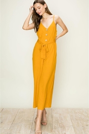 HYFVE Mustard Jumpsuit - Product Mini Image