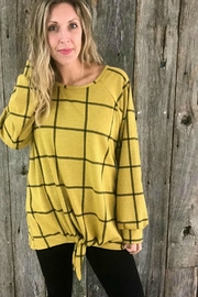 Acting Pro Mustard Knotted Plaid - Product Mini Image