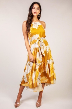 Latiste Mustard Leaf Dress - Product List Image