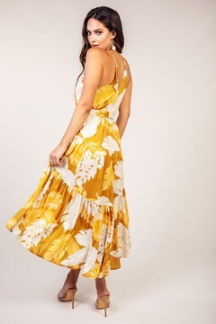 Latiste Mustard Leaf Dress - Alternate List Image