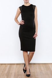 Mustard Seed Cage Slim Dress - Front full body
