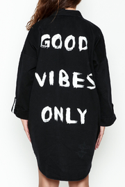 Mustard Seed Good Vibes Shirt Dress - Product Mini Image