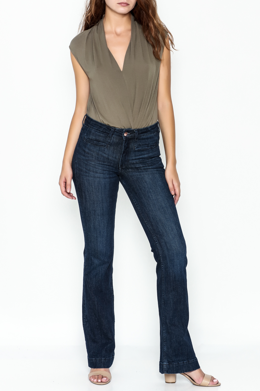 Mustard Seed Date Night Bodysuit - Side Cropped Image
