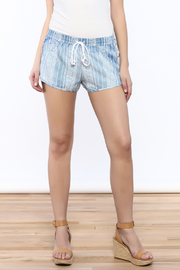 Mustard Seed Denim Looking Shorts - Product Mini Image