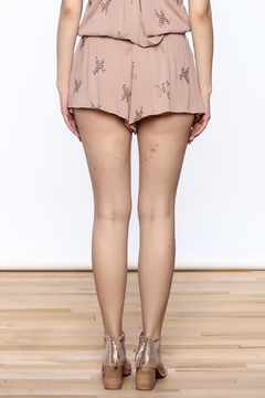 Mustard Seed Pink Embroidered Shorts - Alternate List Image