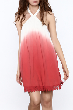 Mustard Seed Halter Ombre Dress - Product List Image