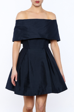 Shoptiques Product: Off The Shoulder Fit And Flare Dress