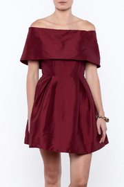 Mustard Seed Off Shoulder Flare Dress - Product Mini Image
