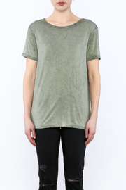 Mustard Seed Cadet Green Tie Back Top - Side cropped