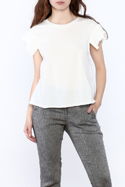 Mustard Seed Open Back White Tee - Product Mini Image