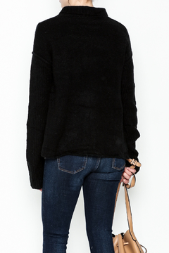 Mustard Seed Black Long Sleeve Cardigan - Alternate List Image