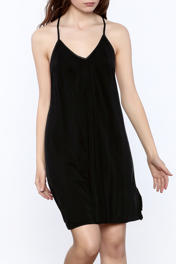 Mustard Seed Casual Black Sleeveless Dress - Main Image