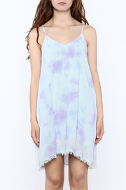 Mustard Seed Lilac Tie Dye Dress - Side cropped