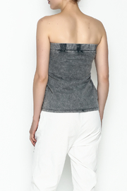 Mustard Seed Tie Front Top - Back cropped