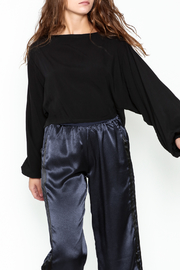 Mustard Seed Volume Sleeve Top - Front cropped