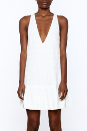 Mustard Seed White Flare Dress - Side cropped