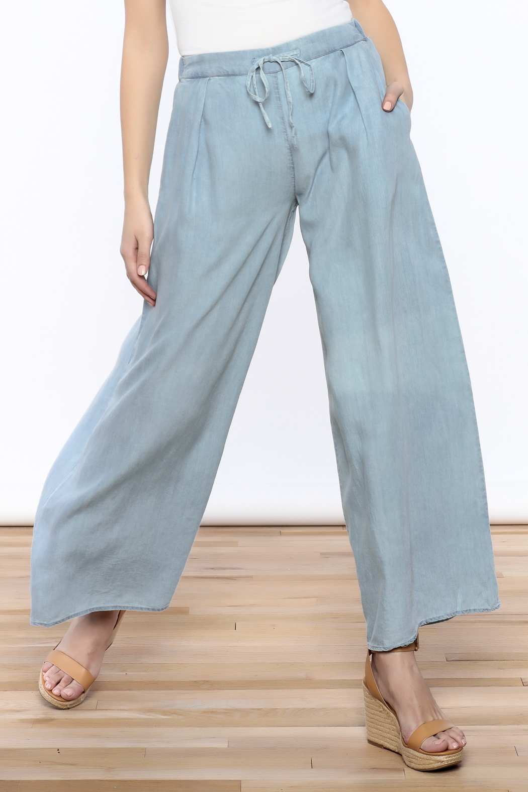 Mustard Seed Wide Leg Denim Pants from New York City by Dor L\'Dor ...