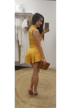 L'atiste Mustard Shorts Set - Alternate List Image