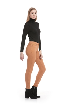 Yoga Jeans Mustard Skinny Jeans - Product List Image