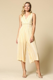 Illa Illa Mustard Stripes Jumpsuit - Product Mini Image