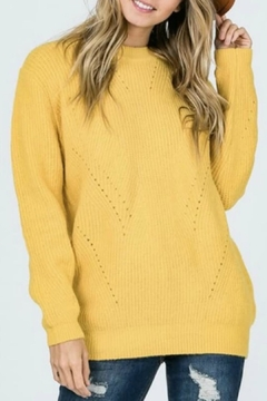 Modern Emporium Mustard Sweater - Product List Image