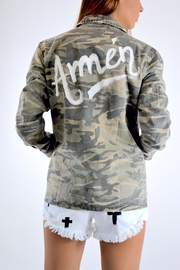 Mustard Seed Amen Camo Jacket - Product Mini Image