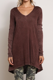 Mustard Seed Basic V Neck Top - Side cropped