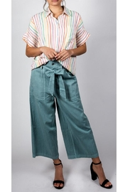 Mustard Seed Beachy Wide-Leg Pant - Front full body