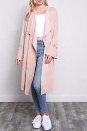 Mustard Seed Bell Sleeve Jacket - Front cropped