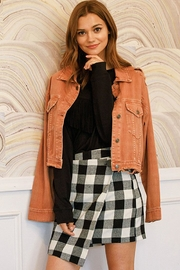 Mustard Seed Clay Denim Jacket - Front cropped