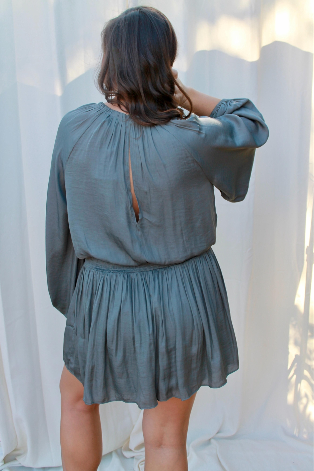 Mustard Seed Destiny Romper - Side Cropped Image