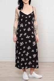 Mustard Seed Floral Midi Dress - Product Mini Image