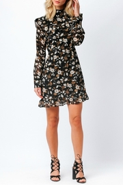 Mustard Seed Floral Ruffle Dress - Product Mini Image