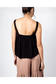 Mustard Seed Flowy Box Top - Back cropped