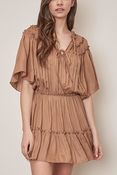 Mustard Seed Frill Detail Dress - Product List Image