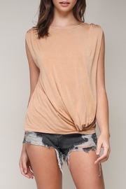 Mustard Seed Front Knot Top - Product Mini Image
