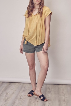 Mustard Seed Front Tie Top - Product List Image