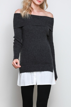 Shoptiques Product: Knit Off Shoulder Sweater