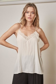 Mustard Seed Lace Cami Top - Product Mini Image
