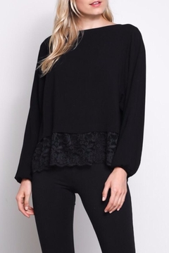 Mustard Seed Lace Top - Product List Image
