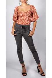 Mustard Seed Lace-Up Skinny Pant - Product Mini Image