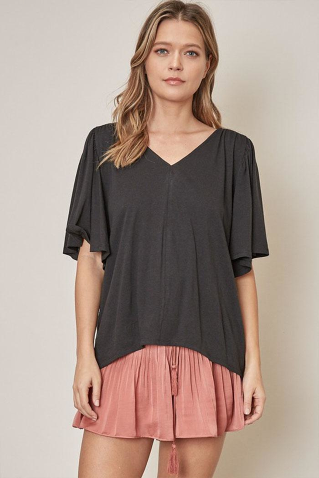 Mustard Seed Loose Fit Tee - Front Cropped Image