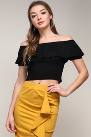 Mustard Seed Off Shoulder Top - Front cropped