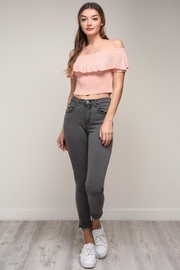 Mustard Seed Off Shoulder Top - Front full body