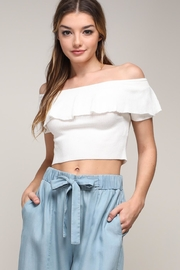 Mustard Seed Off Shoulder Top - Product Mini Image