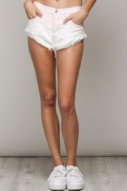 Mustard Seed Ombre Denim Shorts - Product Mini Image