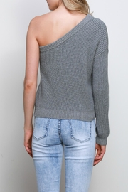 Mustard Seed One Shoulder Sweater - Other